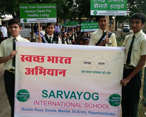 sarvyog-internatinal-school-swatch-bharat